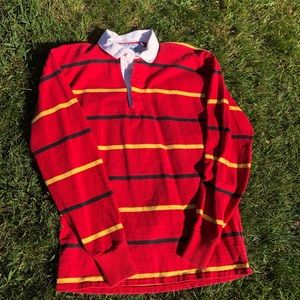 Lands' end authentic rugby shirt M